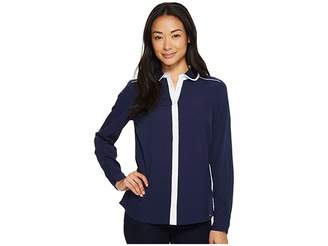 U.S. Polo Assn. Crepe de Chine Blouse Women's Blouse
