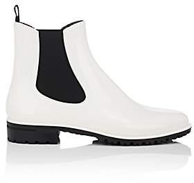 Barneys New York Women's PVC Rain Boots-White