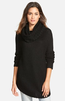 Junior Women's Dreamers By Debut Cowl Neck Sweater $44 thestylecure.com
