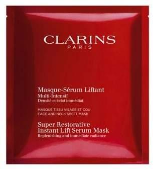 Clarins Set of Five Super Restorative Instant Lift Serum Masks/1 oz.