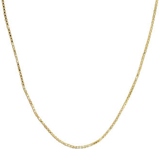 JCPenney FINE JEWELRY 14K Yellow Gold 24 Hollow Box Chain