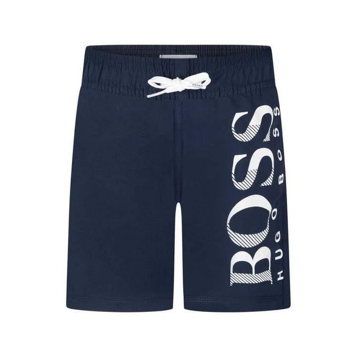 BOSS KidsBoys Navy Quick Dry Surfer Shorts