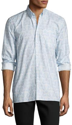 Givenchy Star Button Down Dress Shirt