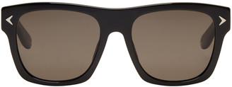 Givenchy Black Square Sunglasses $325 thestylecure.com