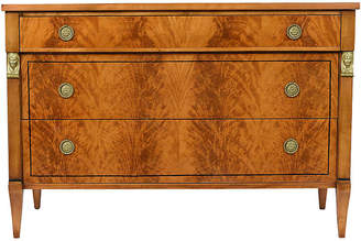 One Kings Lane Vintage Empire-style Chest of Drawers - Castle Antiques & Design