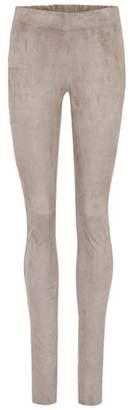 Joseph Stretch-suede trousers