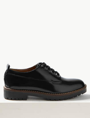 Marks and Spencer Leather Cleat Sole Lace-up Brogue