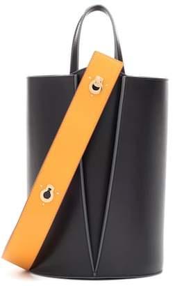 Danse Lente Mini Lorna leather bucket bag