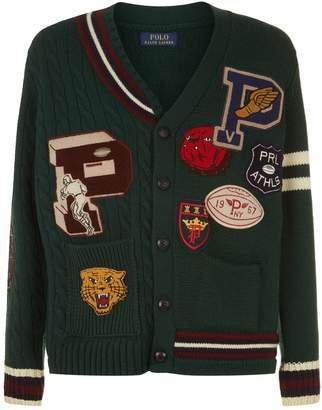Polo Ralph Lauren Varsity Wool Cardigan