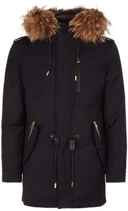 Mackage Seth Fur Trim Coat