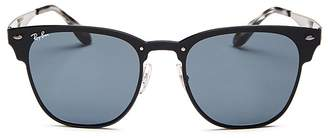 Ray-Ban Unisex Blaze Rimless Clubmaster Sunglasses, 51mm - 100% Exclusive