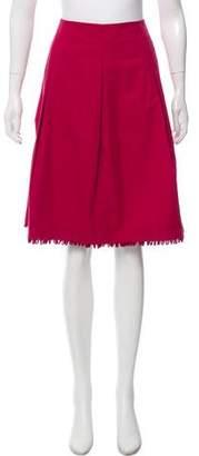 Miu Miu Flared Knee-Length Skirt w/ Tags