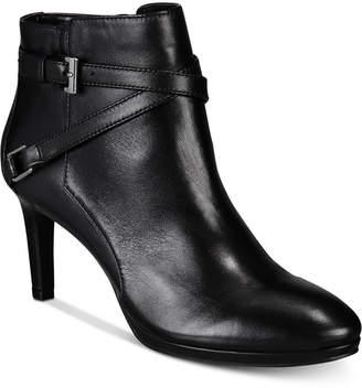 Bandolino Baruffi Platform Ankle Booties Women's Shoes