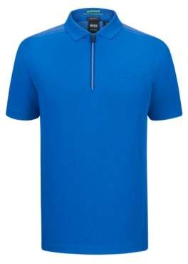 BOSS Hugo Moisture Manager Polo Shirt, Regular Fit Philix L Blue