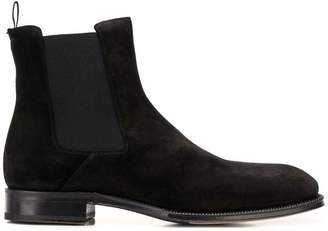 Alexander McQueen side elasticated panel boots