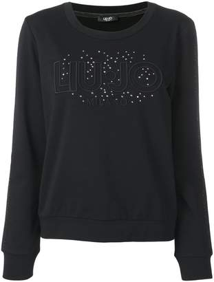 Liu Jo black logo sweater