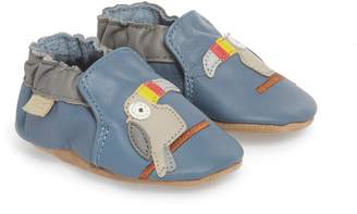 Robeez R) Toucan Tom Moccasin Crib Shoe