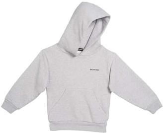 Balenciaga Logo Cotton Hoodie, Size 2-10