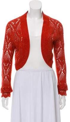Magaschoni Cashmere Knit Cardigan
