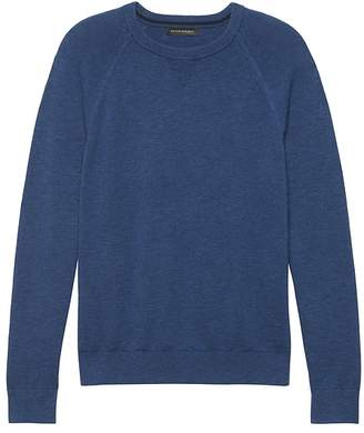 Banana Republic Textured Cotton Crew-Neck Sweater