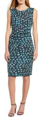 Nic+Zoe Vivid Twist Detail Sleeveless Dress (Regular & Petite)