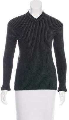 Dolce & Gabbana Virgin Wool Knit Sweater