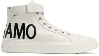 Salvatore Ferragamo Hi-top sneakers