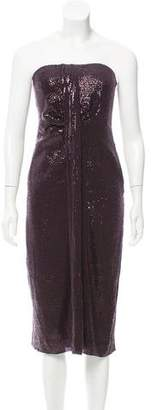 Diane von Furstenberg Piaza Cuvet Sequined Dress w/ Tags