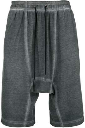 Tom Rebl faded drop-crotch shorts
