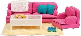Lundby Smaland Dollhouse Sitting Room Set