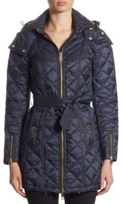 Burberry Quilted Sheen Jacket