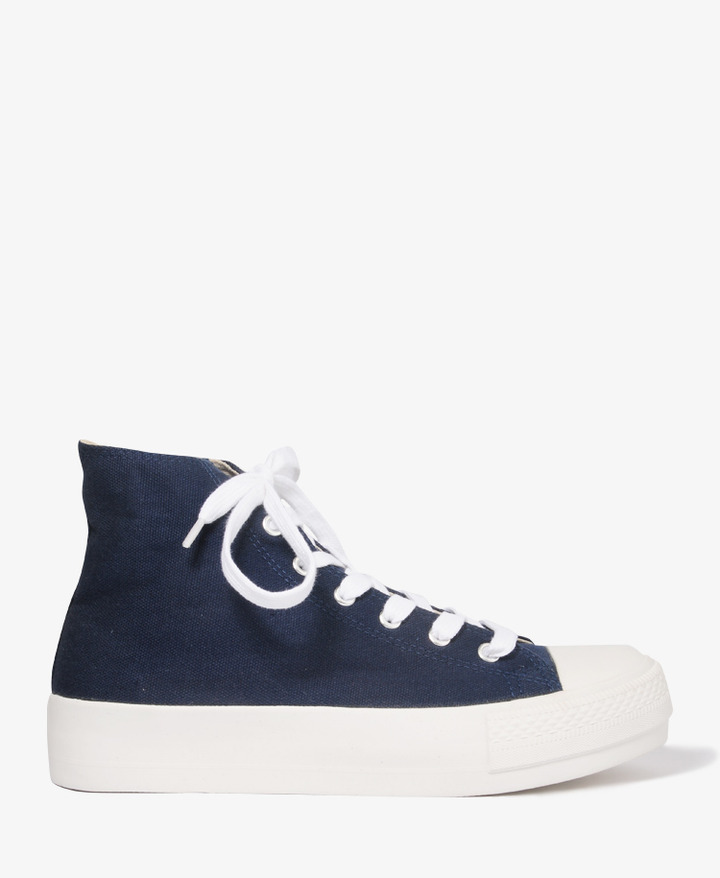 Forever 21 High-Top Flatform Sneakers