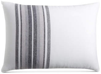 Hotel Collection Closeout! Linen Plaid King Sham