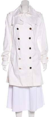Gianfranco Ferre Metal Hardware Trench Coat