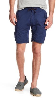 Scotch & Soda Stretch Poplin Cargo Shorts $95 thestylecure.com