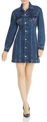 Helmut Lang Femme Denim Trucker Dress