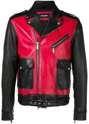 DSQUARED2 panelled jacket