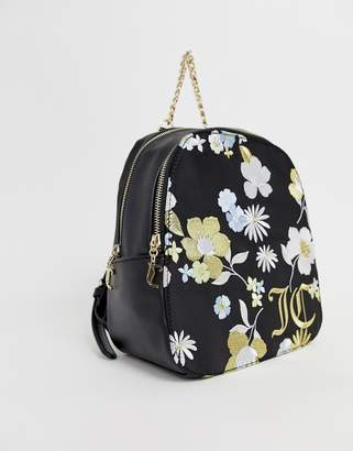 Juicy Couture floral back pack