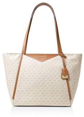 ae2237d02564 MICHAEL Michael Kors White Double Handle Handbags - ShopStyle