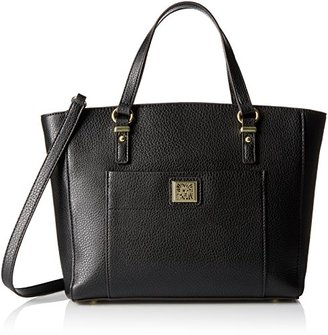 Anne Klein Perfect Tote Convertible Satchel $30.31 thestylecure.com