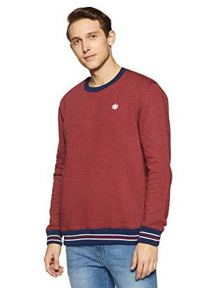 Something for Everyone Men's Basic Cotton Polyester Grindle Fleece Sweatshirt