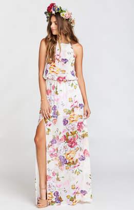 Show Me Your Mumu Heather Halter Dress ~ Best Friend Floral