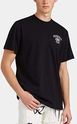 "Vetements Men's ""Georgia"" Cotton T-Shirt - Black"