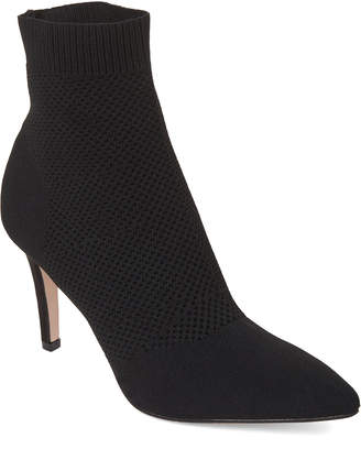 Mia Black Knit McKinley Stiletto Booties