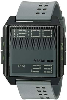 Vestal Unisex DIG036 Digichord Digital Display Quartz Grey Watch