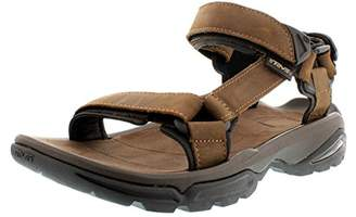 f7f7536bf144e Teva Men s Terra Fi 4 Leather Sports and Outdoor Hiking Sandal