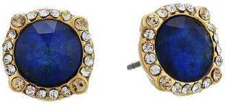 Kate Spade Perfectly Imperfect Pave Halo Studs Earring