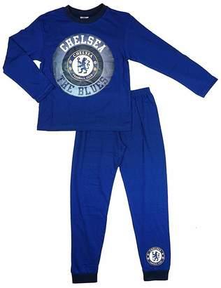 Cup of Tees Boys Chelsea Football Club Pyjamas 7-8 Years