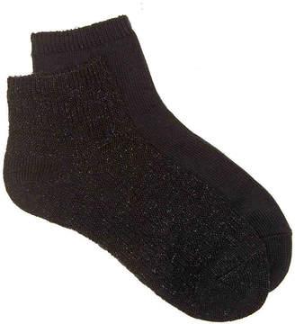 Keds Woven Lurex Ankle Socks - 2 Pack - Women's