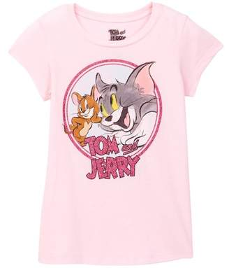 Jerry Leigh Tom & Jerry BFFs Tee (Little Girls & Big Girls)